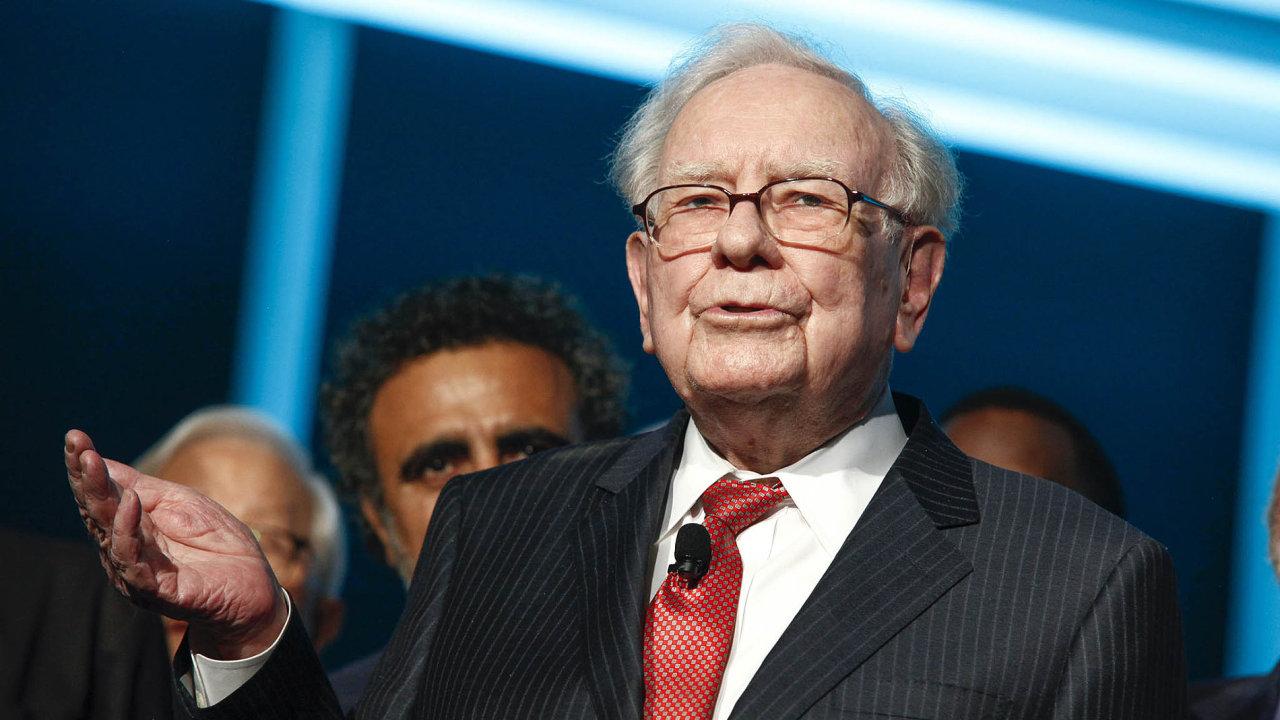 Warren Buffett je třetím nejbohatším člověkem na světě.