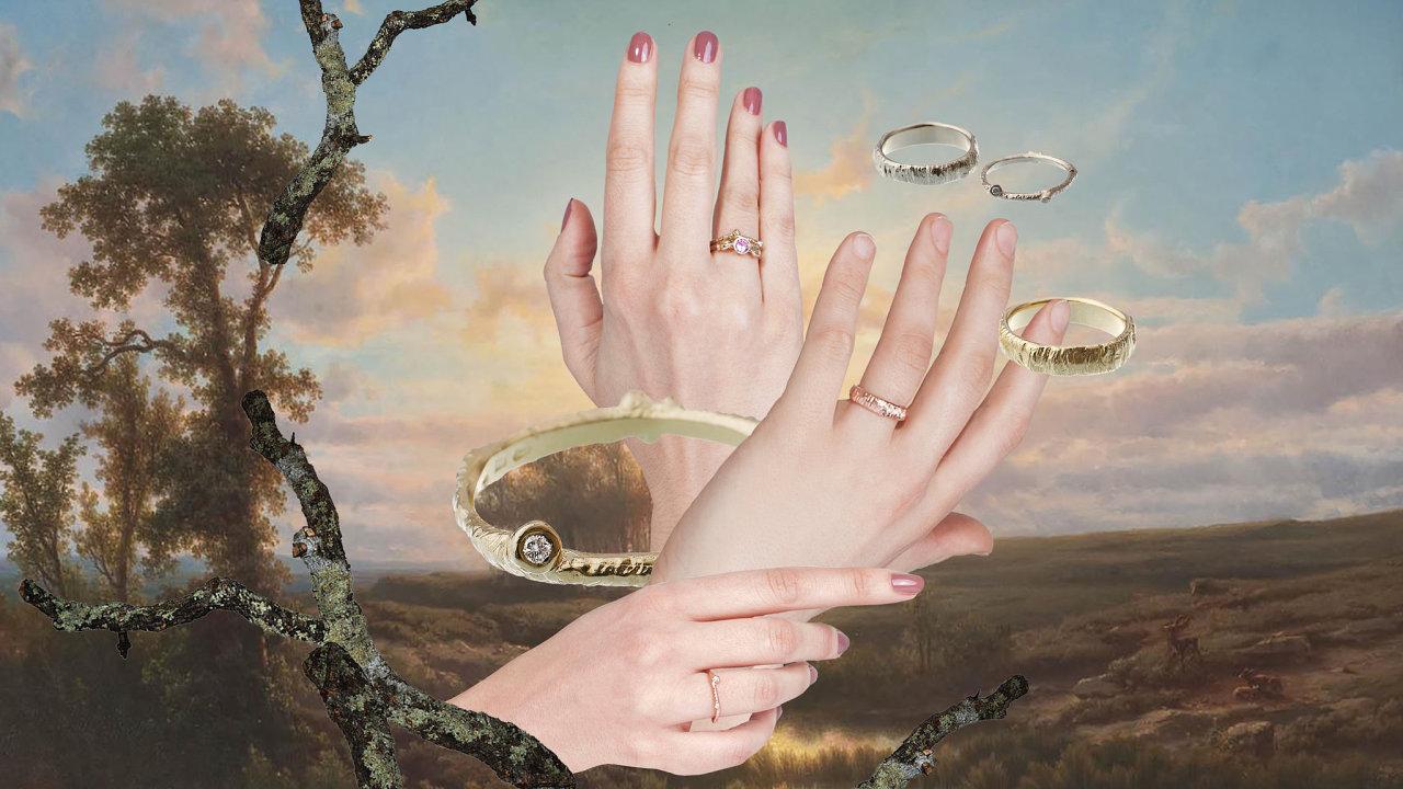Kolekce snubních a zásnubních prstenů Janji Prokić