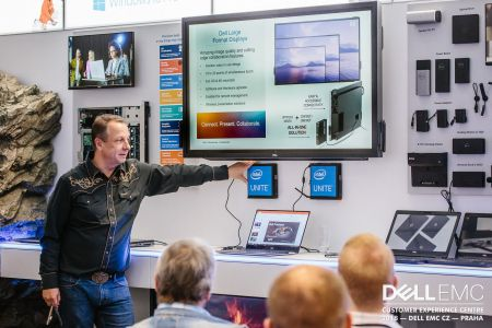 Společnost Dell EMC otevřela v Praze Customer Experience Centre