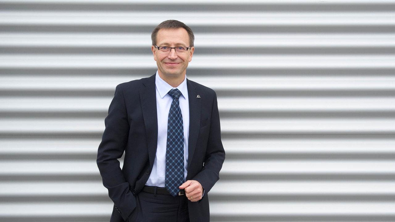 Martin Žáček, šéf pojišťovny Uniqa