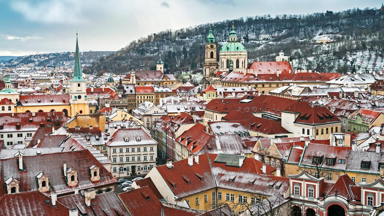 Praha, hlavní město České republiky.