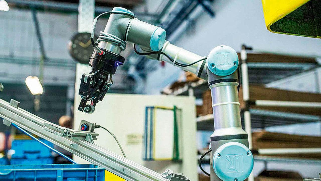 Ve výrobě se obotické stroje zatím prosazují více než v logistice.