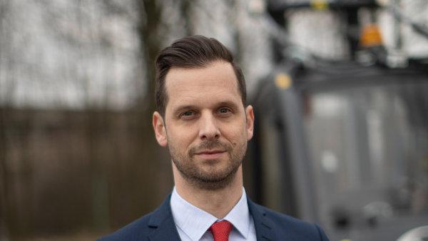 David Čepek, nový jednatel Linde Material Handling Česká republika