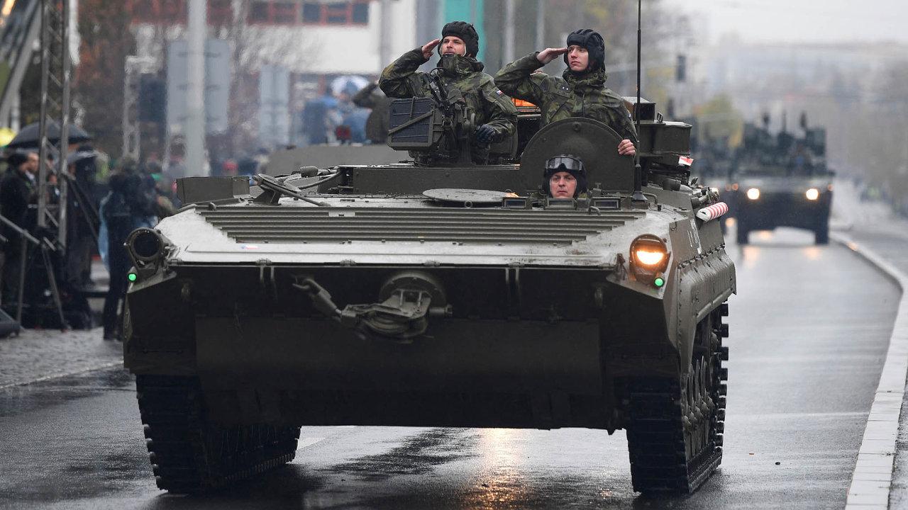 Technika zdob socialismu: Konstrukce bojových vozidel, která dnes česká armáda používá, vznikla v70. letech.