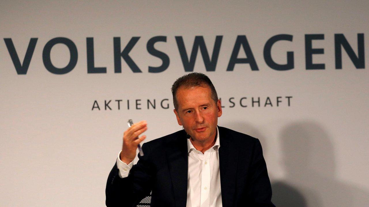 Šéf koncernu Volkswagen Herbert Diess.
