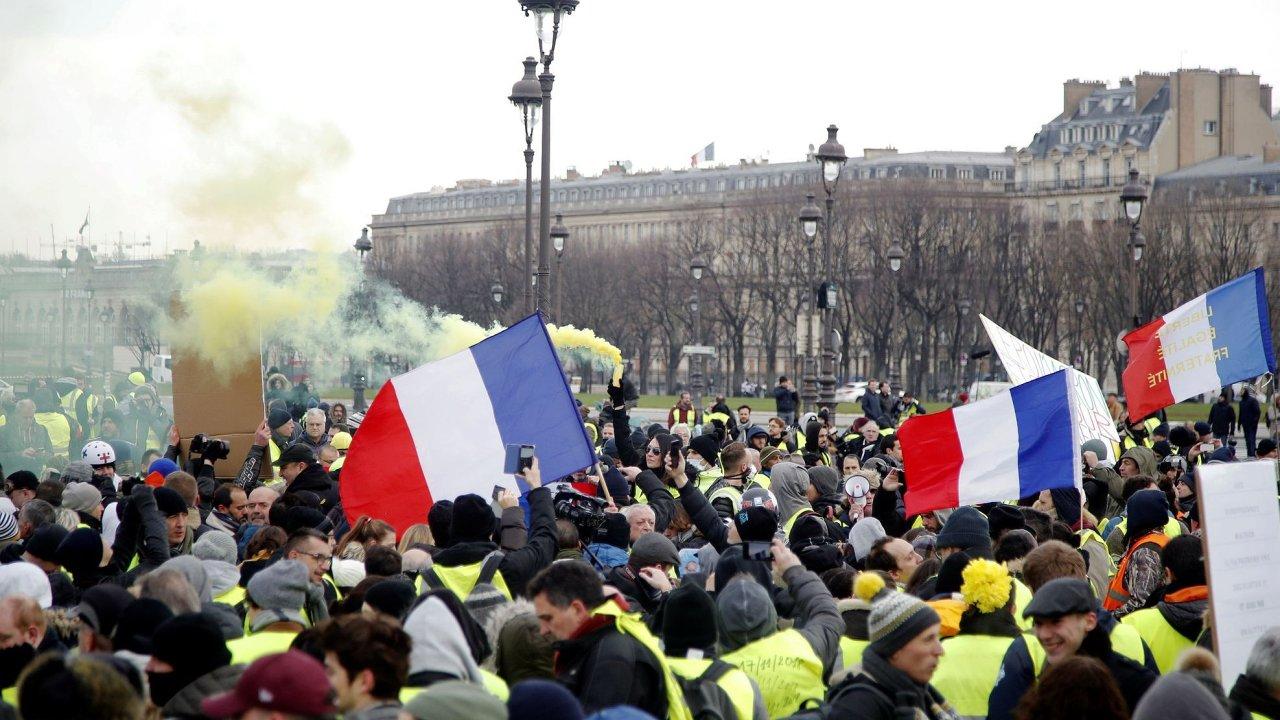 Žluté vesty v Paříži