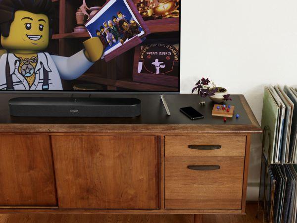 Sonos Beam, Sub a One spolu tvoří domácí kino bez drátů a stresu