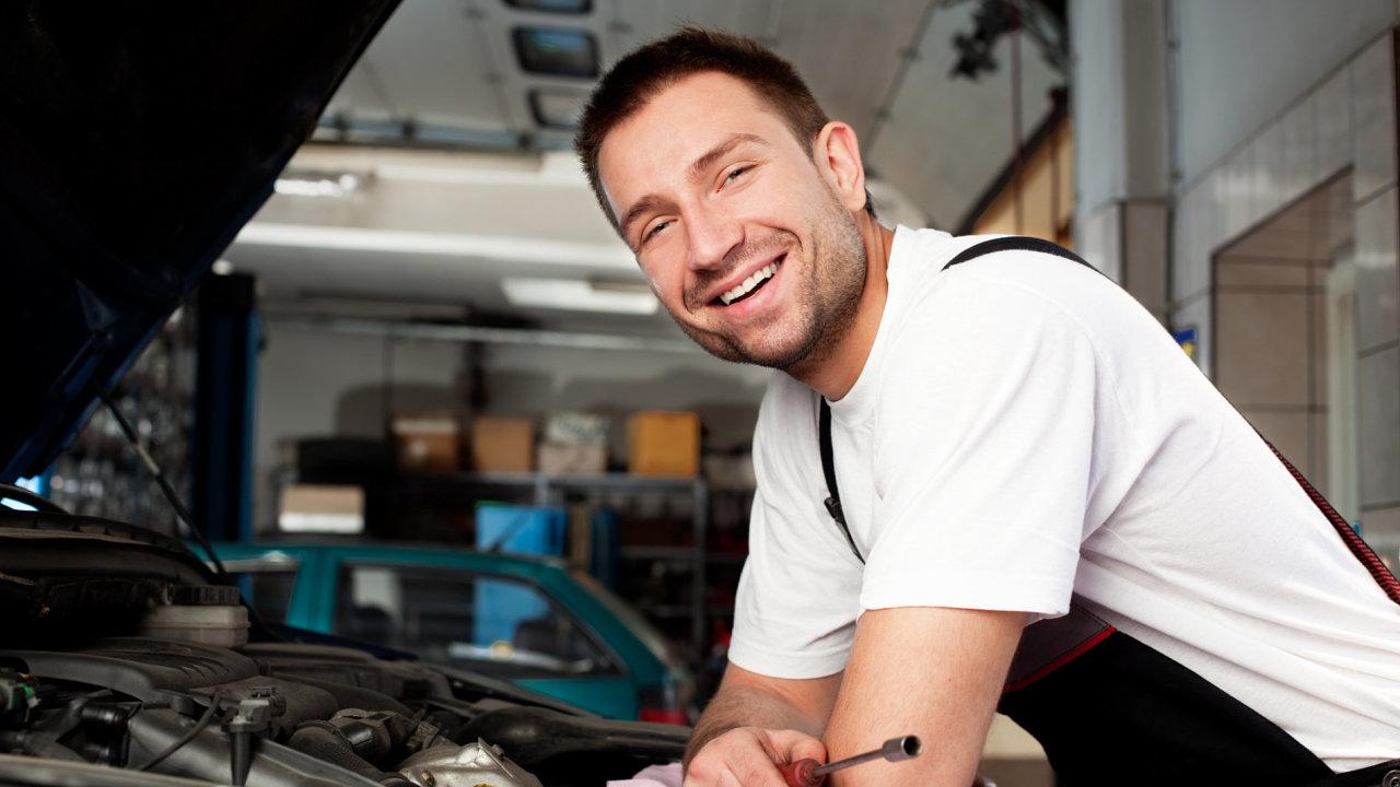 Šťastný člověk, ilustrační foto