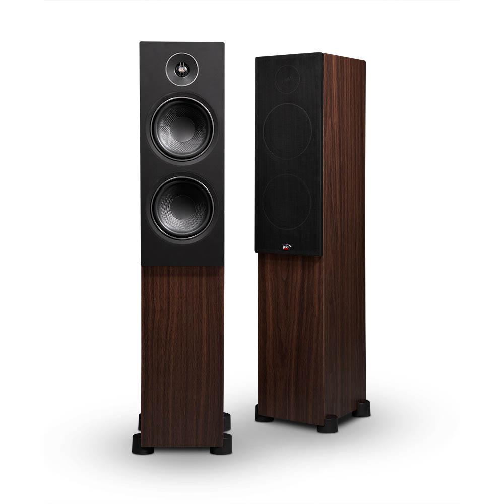Reprosoustavy Alpha T20mají navzdory svým malým rozměrům plný zvuk s dostatkem basů.