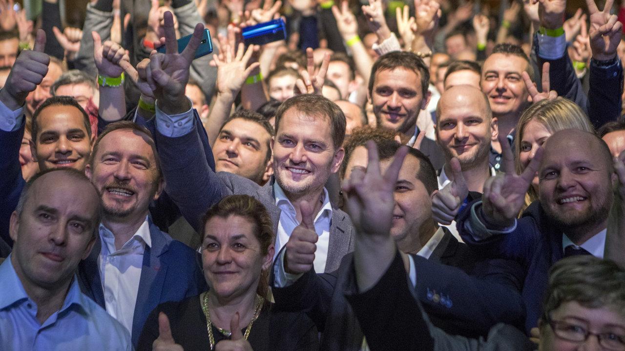 Igor Matovič a jeho hnutí OLANO vyhrálo Slovenské volby.
