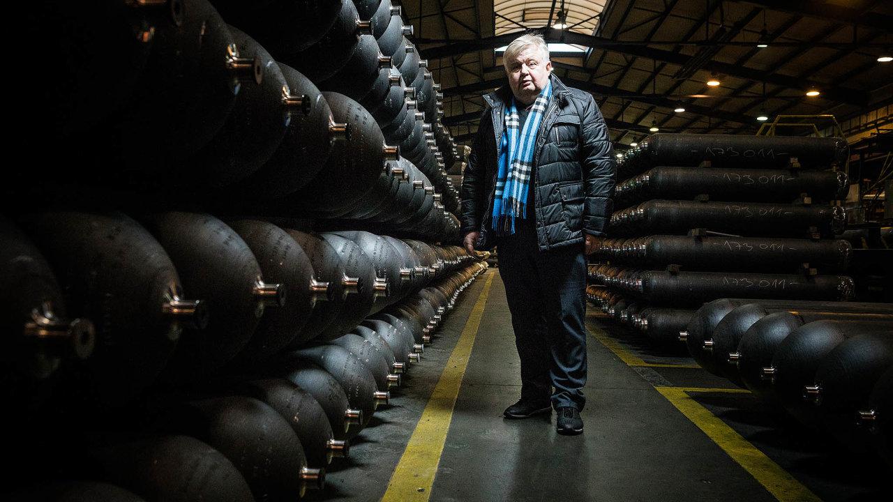 Ostravský podnikatel: Jan Světlík vyrábí lahve ivPolsku aBělorusku.