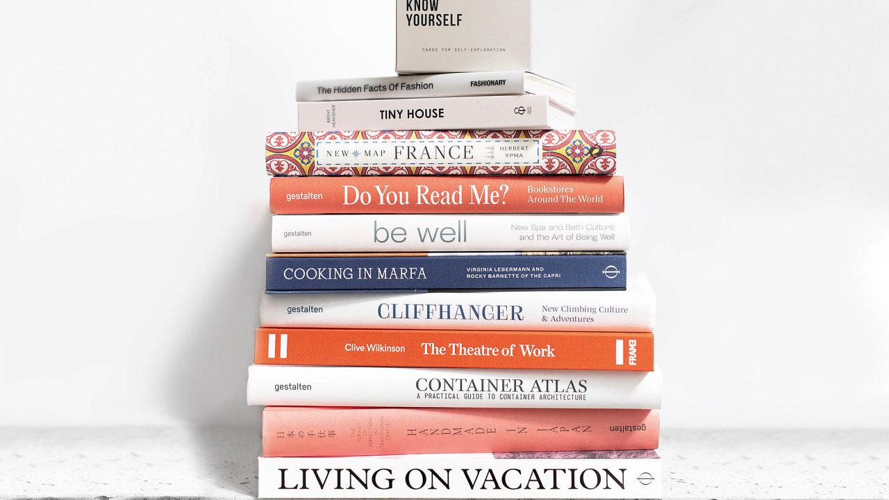 Kurátorský výběr novinek knižního butiku Book Therapy