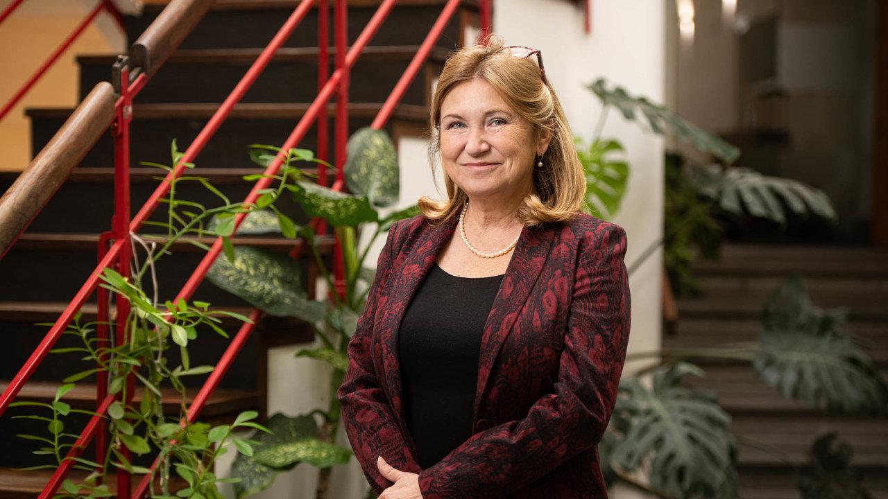 Předsedkyně Národní rozpočtové rady Eva Zamrazilová.