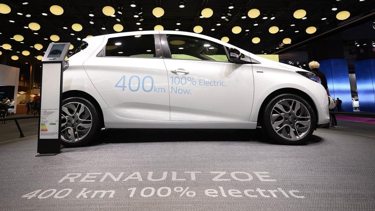 Úspěšný Francouz: Nejprodávanějším elektrovozem se loni stal podle předběžných statistik Renault Zoe.