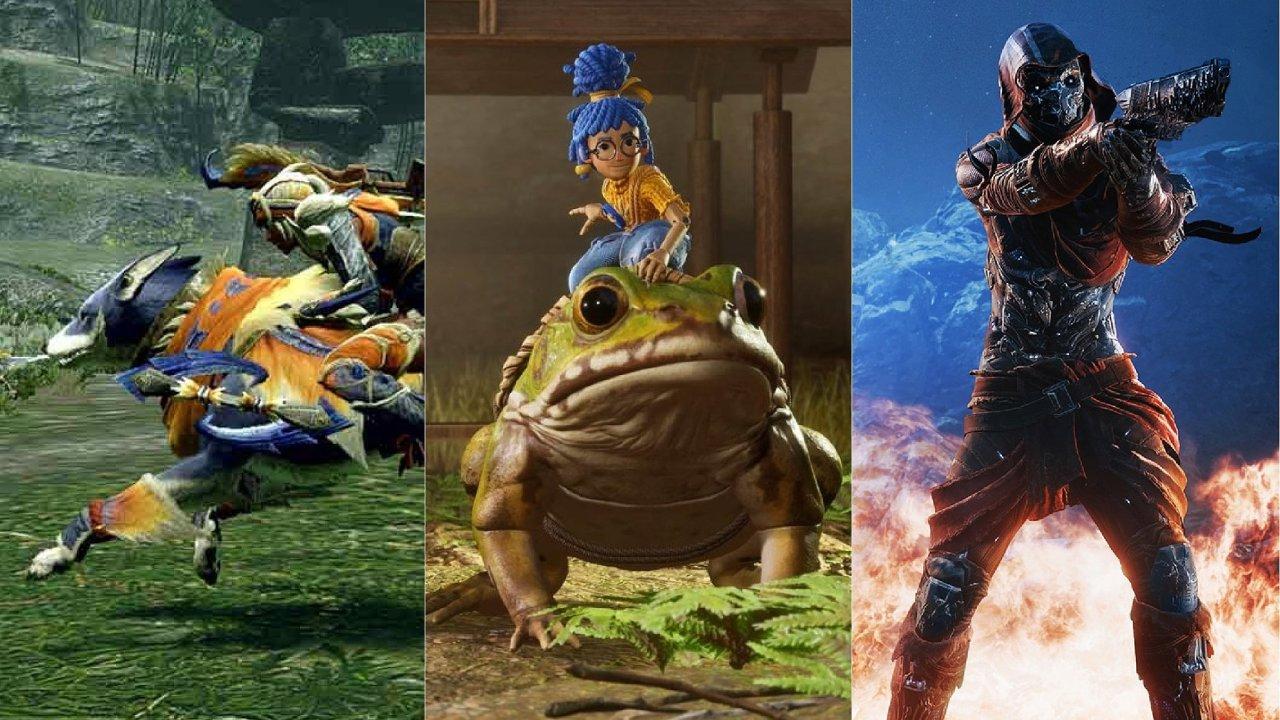 Velikonoce, a nejen je, může zpříjemnit hned trojice nových her: It Takes Two, Monster Hunter a Rise Outriders