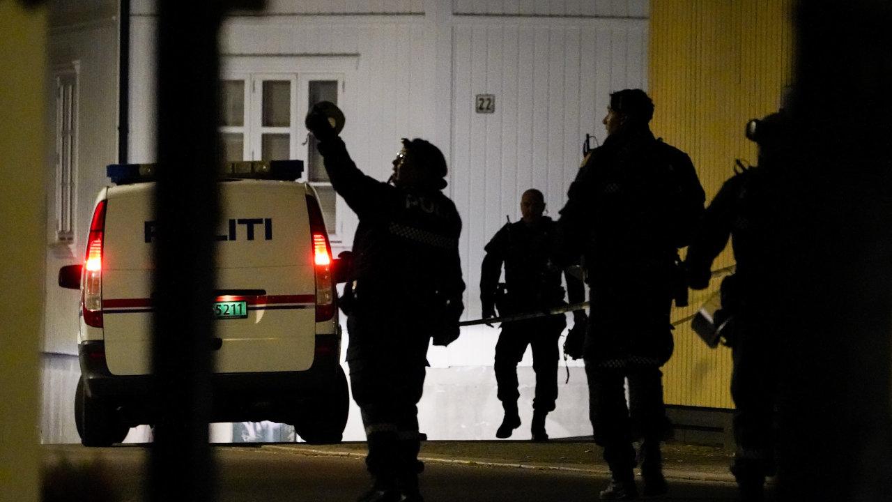 Útok v Norsku.