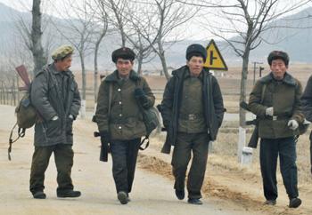 KLDR, Korea, armáda, vojáci