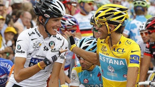 Největší favorité Tour: Andy Schleck a Alberto Contador