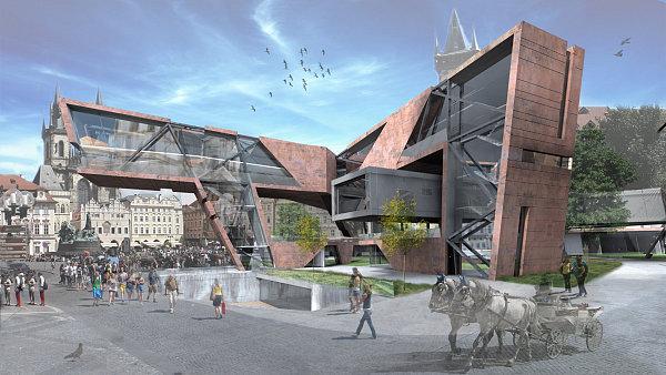 Dostavba Starom�stsk� radnice podle student� architektury