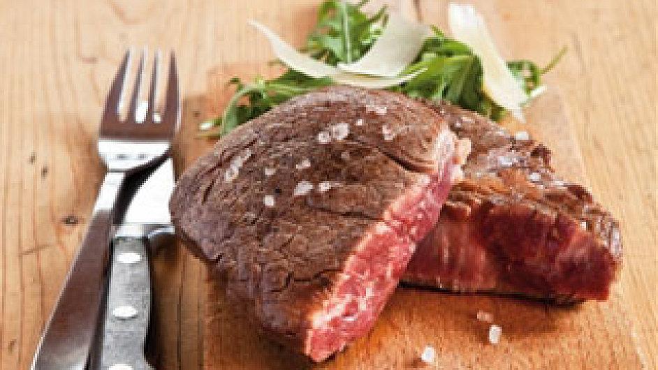 Steak hotový