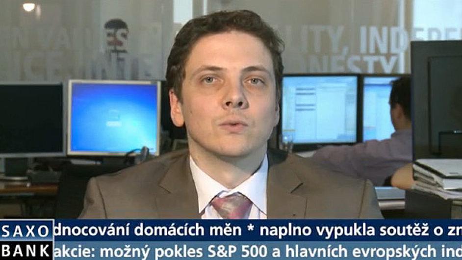 Lubomír Spousta ze Saxo Bank.
