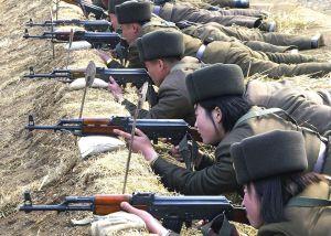 Armáda KLDR - ilustrační foto.