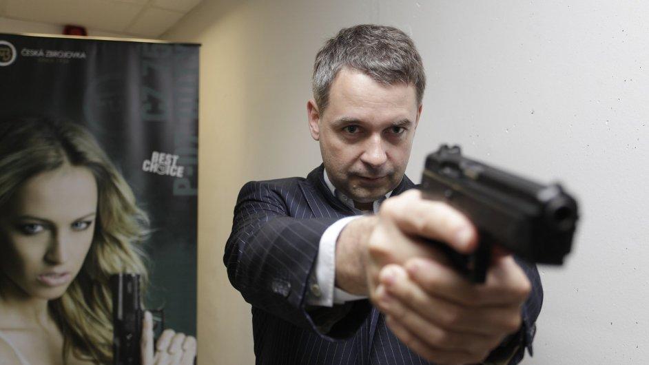 Generální ředitel České zbrojovky Lubomír Kovařík