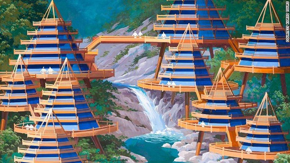 Projekt severokorejského architekta
