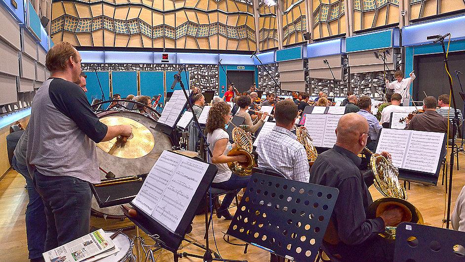Snímek ze zářijové zkoušky Dvořákovy opery Alfred