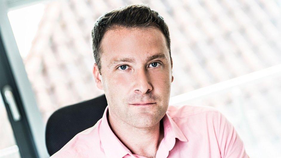Jon Hill, generální ředitel české pobočky personální agentury Grafton Recruitment