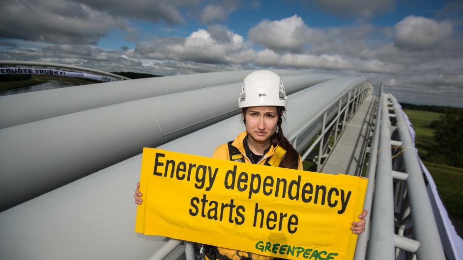 Energetická závislost začíná zde