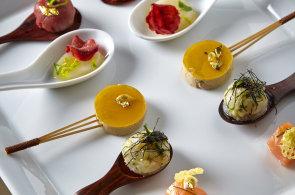 Lízátko k bublinkám. S foie gras podle Yannicka Alléna budete světoví