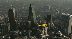 DHL helicopter UK