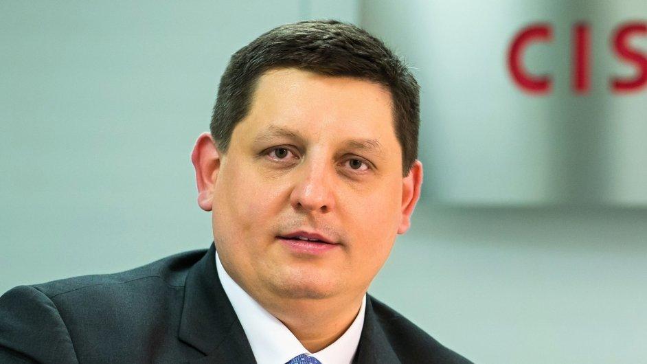 Michal Stachník, generální ředitel Cisco ČR