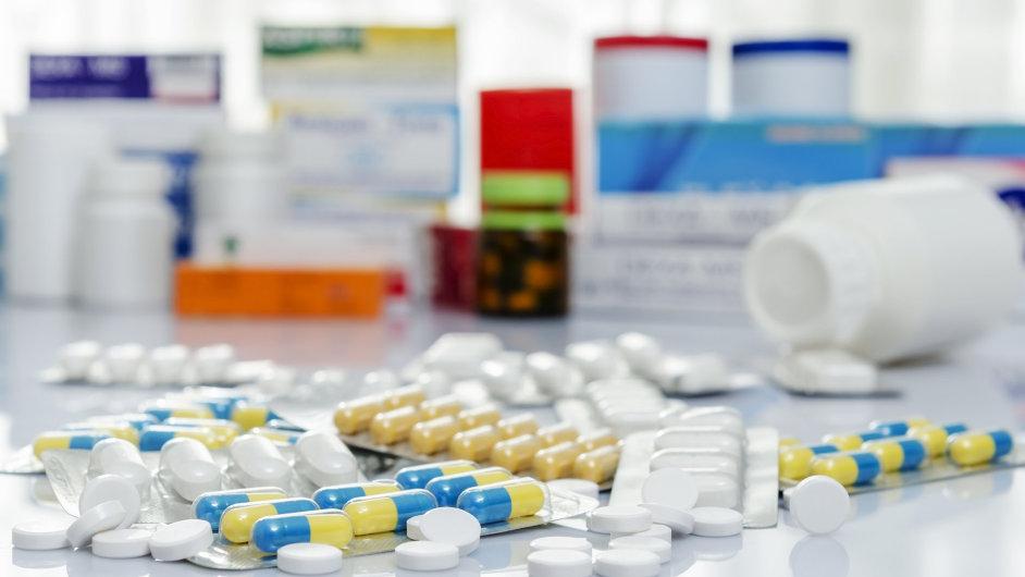 Léky – ilustrační foto.