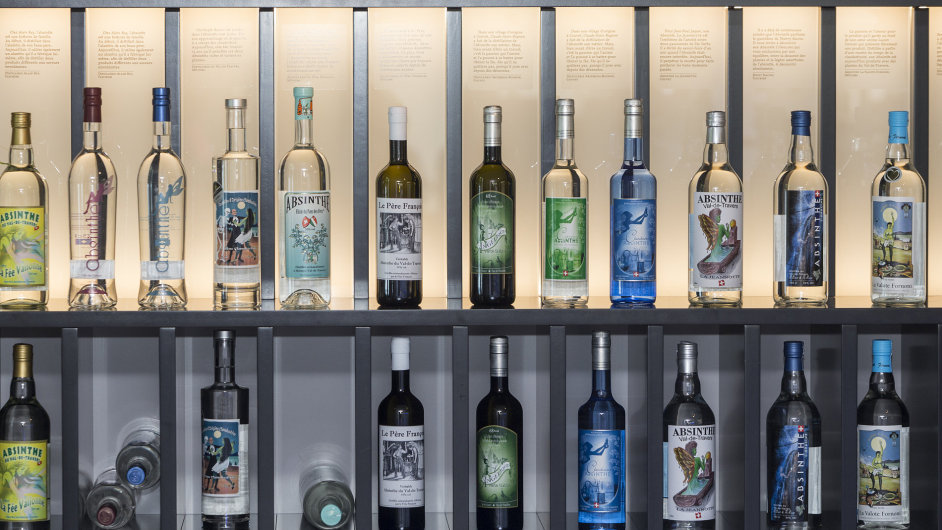 Dokonalou přehlídkou historie absintu ve Švýcarsku je malé muzeum v obci Môtiers.