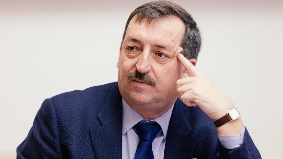 Generální ředitel Českých drah Dalibor Zelený