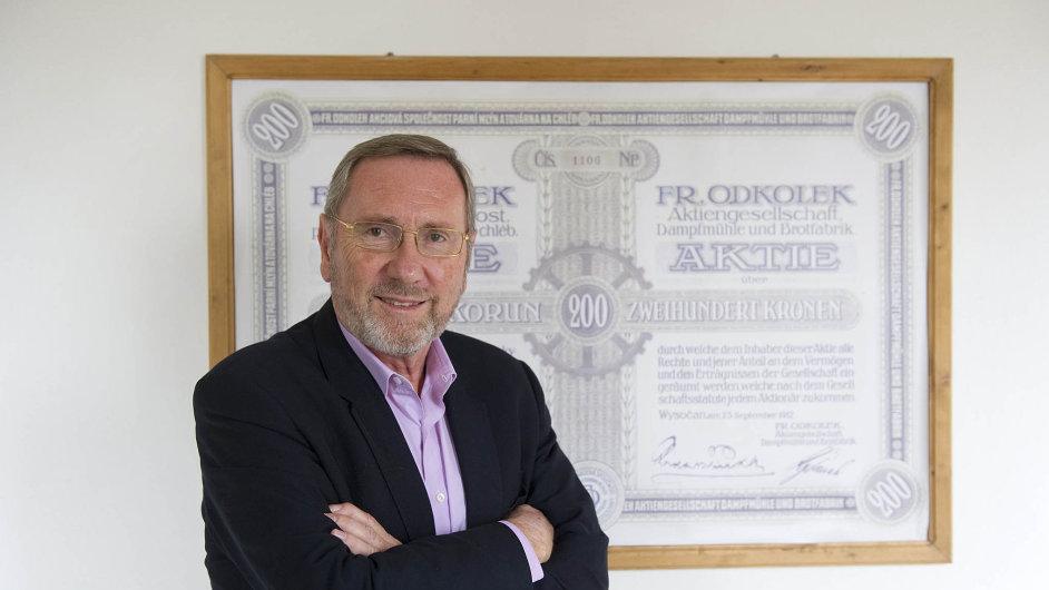 Zakladatel United Bakeries Marko Pařík promluvil o obchodu s Penamem Andreje Babiše.