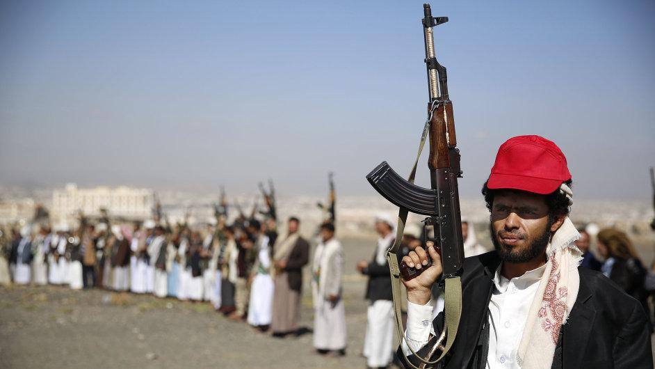 Mírová jednání o konfliktu v Jemenu.