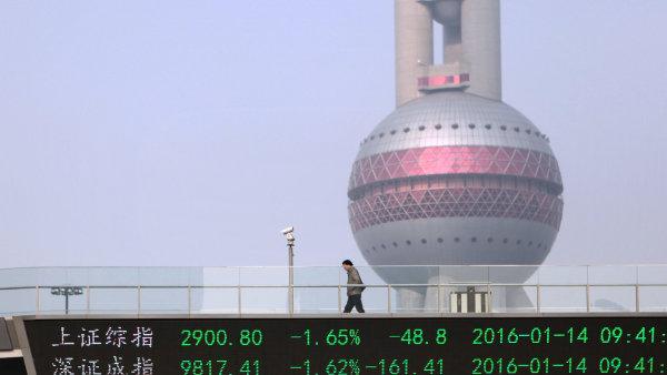 Čínský bankovní sektor přerostl eurozónu - Ilustrační foto.