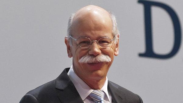 Dieter Zetsche, šéf společnosti Daimler.