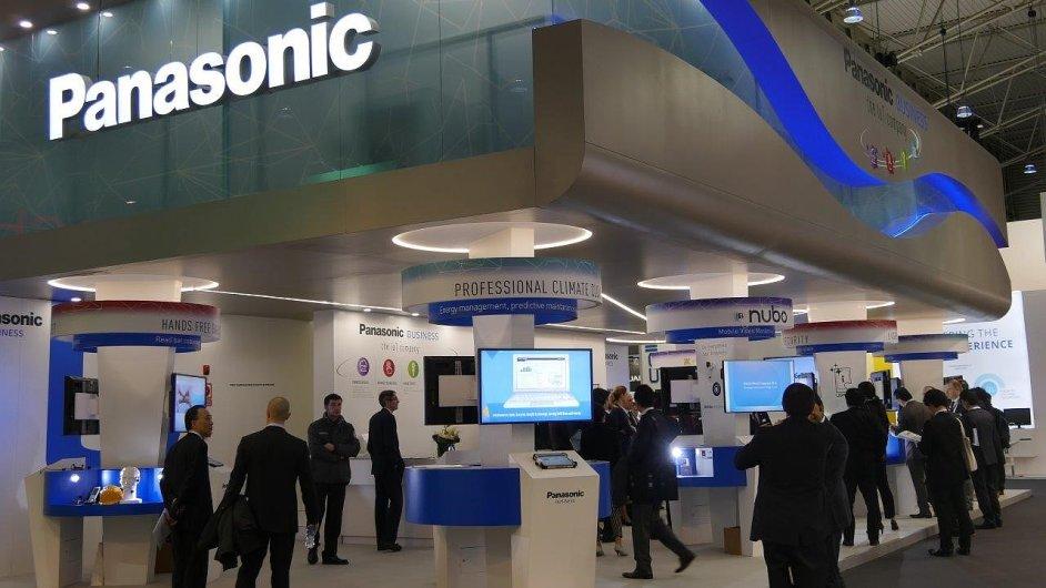 Stánek Panasonic na MWC 2016