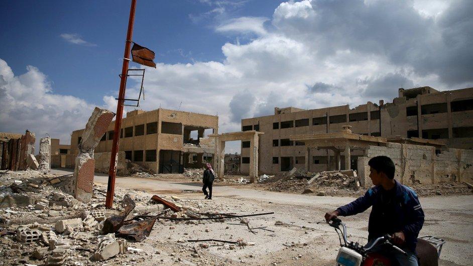 Sýrie, boje
