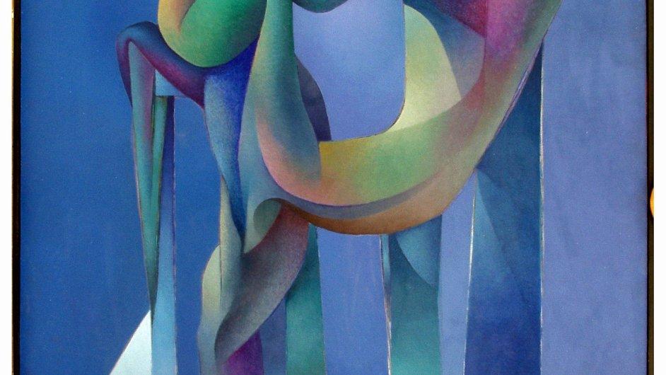 Josef Istler: Modrý objekt, 1956