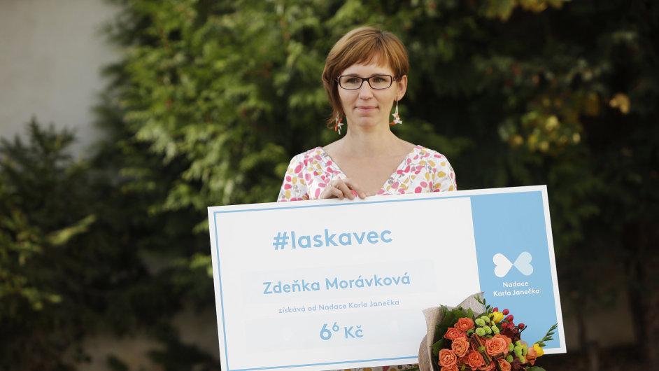 Zdeňka Morávková získala titul Laskavec.