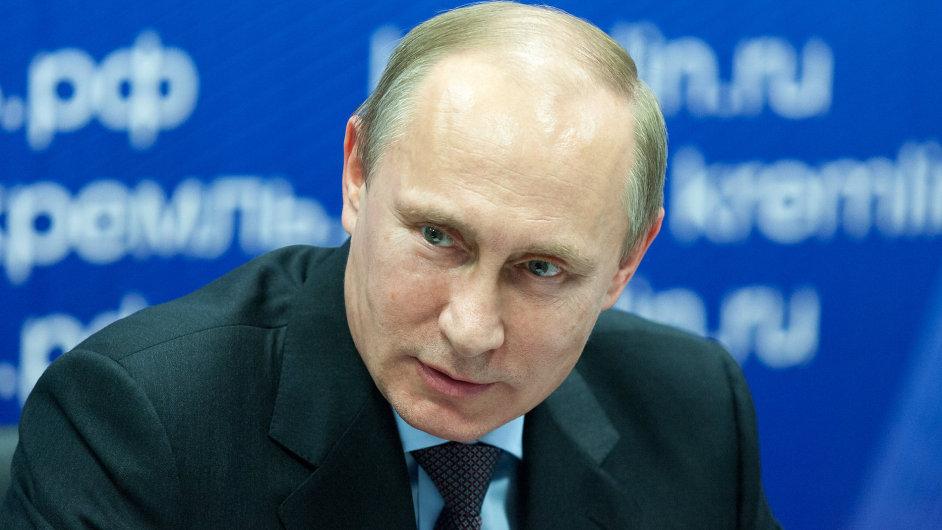 Autorem knihy o Vladimiru Putinovi (na snímku z listopadu 2013) je britský novinář Marc Bennetts. Žil 20 let v Rusku, psal pro britský Guardian a Observer nebo pro americké New York Times.