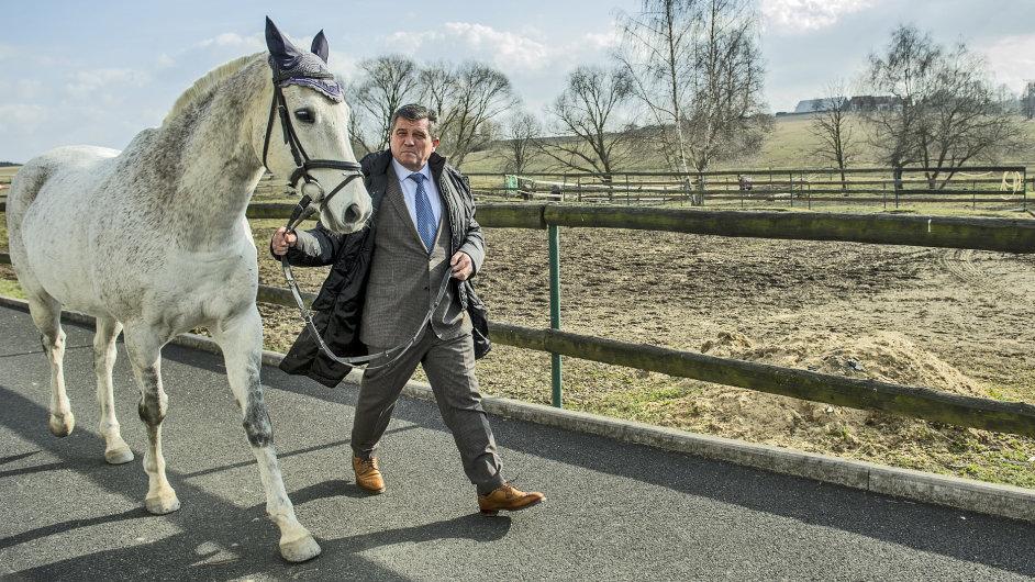 Jiří Charvát s koněm