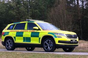 Škoda představila speciál Kodiaq pro záchranáře, následovat by ho mohla i policejní a hasičská verze