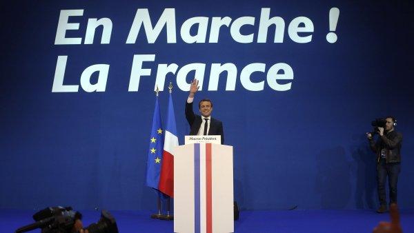 Macron bude podle průzkumů první, nasvědčují tomu i průběžné výsledky. Le Penová skončí druhá
