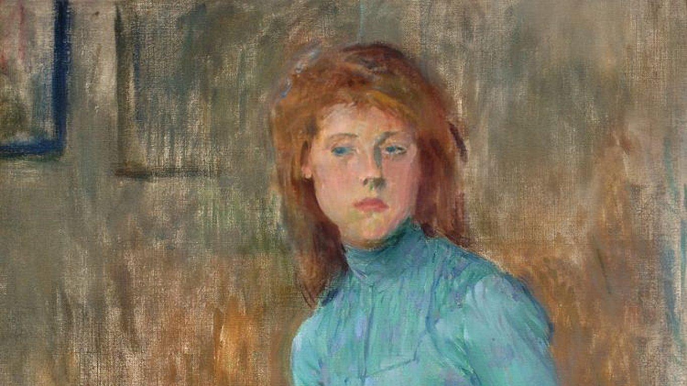 Jan Preisler: Dívka v modrém, vydraženo za 7,8 milionu korun bez provize